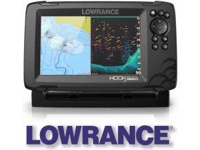 Lowrance echolot HOOK REVEAL 7 se sondou HDI 50/200 kHz