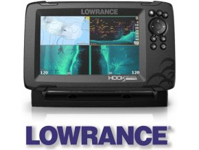 Lowrance echolot HOOK REVEAL 7 se sondou Tripleshot