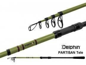 Prut Delphin PARTISAN Tele 240, 270, 300, 330, 360 cm