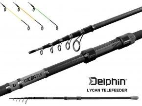 Prut Delphin LYCAN TeleFEEDER + 3 špičky