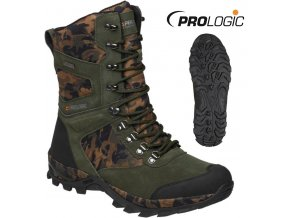 Prologic rybářské boty Bank Bound Camo Trek Boot High