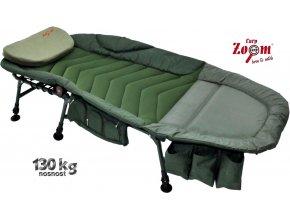Carp Zoom rybářské lehátko Deluxe Full Comfort Bedchair