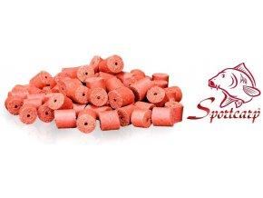 Pelety Konopásek červené 17 mm/1 kg