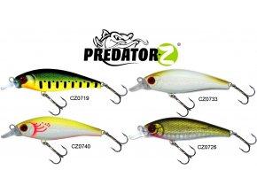 Wobler Predator-Z M Shad 7,5 cm/6 g