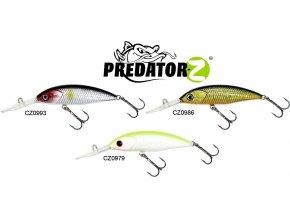 Wobler Predator-Z Wiser Minnow 8 cm/4 g