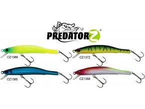 Wobler Predator-Z Hard Minnow 8,5 cm/4,5 g