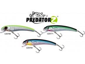 Wobler Predator-Z Bleak Minnow 8,5 cm/8 g