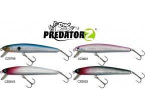 Wobler Predator-Z Deep Minnow 9,5 cm/10,2 g