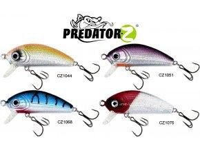 Wobler Predator-Z Chub 4,5 cm/3,4 g