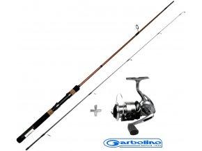 Garbolino vláčecí set prut Strike Spin 1,80 m/3-15 g + naviják Strike 301 FD