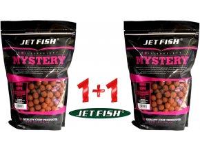 Boilies Jet Fish Mystery Jahoda/Moruše 20 mm/3 kg - AKCE 1+1