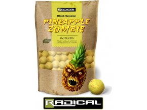 Boilies Radical Pineapple Zombie 1 kg