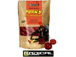 Boilies Radical Punky Strawbanana 1 kg