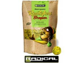 Boilies Radical Rastafari Scopex 1 kg