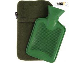 NGT zahřívací láhev Hot Water Bottle 1L With Fleece Case