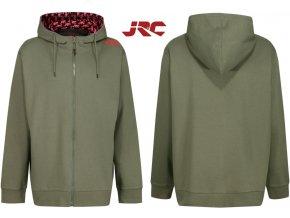 Mikina JRC Zipped Hoody Green
