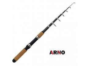 Rybářský prut ARNO Sea Black Tele 210 cm/10-45 g