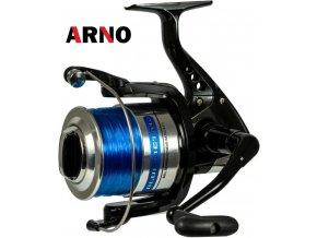 Rybářský naviják ARNO Blue Metal