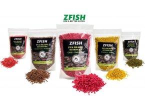 Zfish mikropelety PVA Ready Method Feeder Mix 2-3 mm/1 kg