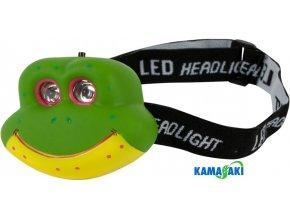 Dětská čelovka Kamasaki Kid Frog Headlamp