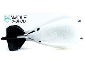 Zakrmovací raketa Wolf X-Spod Competition White