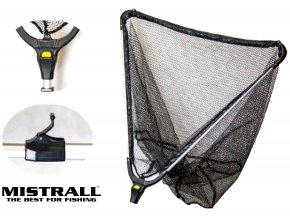 Mistrall podběrák s pogumovanou síťkou X8