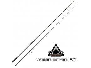Prut Anaconda Undecover 50 3,60 m/2,75 lb - 2 díly