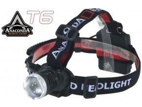 Anaconda Vipex T6 Headlight čelová svítilna