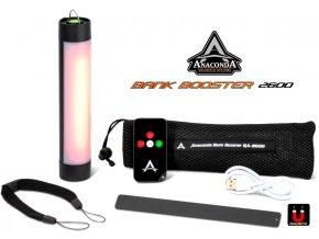 Anaconda Bank Booster SA 2600 svítilna a power banka