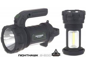 Anaconda Nighthawk S-200 multifunkční svítilna