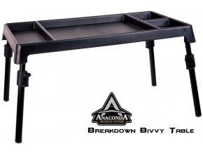 Anaconda Breakdown Bivvy Table stolek do bivaku