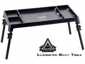 Anaconda Illuminated Bivvy Table stolek do bivaku