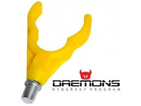 Daemons plastová zadní rohatinka U žlutá
