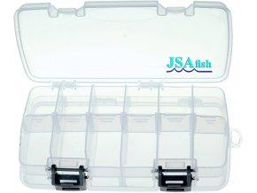 ICE Fish rybářská krabička oboustraná V 210 x 115 x 60 mm