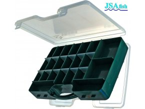 JSA Fish rybářská krabička kufřík oboustranný