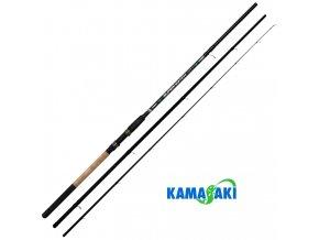 Kamasaki rybářský prut Super Match 3,90 m/5-25 g