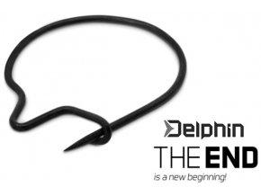 Delphin klipy na červy THE END Maggot Trap 15 ks