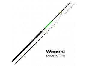 Wizard sumcový prut Samurai Cat 300 cm/300-600 g