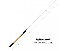 Wizard přívlačový prut Carbon Solid Spin 2,20 m/15-30 g
