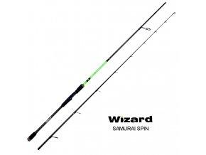 Wizard přívlačový prut Samurai Spin 2,40 m/2-8 g