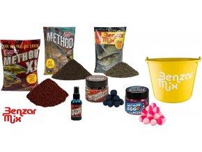 Benzar Mix set krmení Quarry Lake Carp Recipe - Kapr