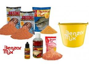 Benzar Mix set krmení Cheese Barbel Magnet - Parma