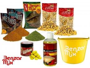 Benzar Mix set krmení Grass Carp Recipe - Amur