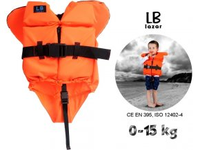 LB Lázár dětská záchranná vesta Life Vest 0-15 kg