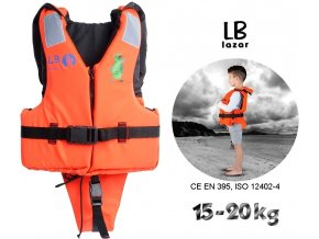 LB Lázár dětská záchranná vesta Life Vest 15-20 kg