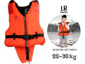LB Lázár dětská záchranná vesta Life Vest 20-30 kg