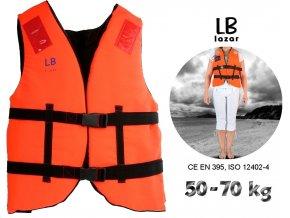 LB Lázár záchranná vesta Life Vest 50-70 kg