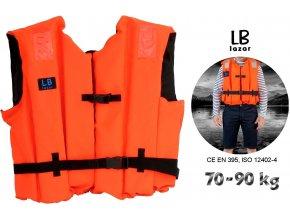 LB Lázár záchranná vesta Life Vest 70-90 kg