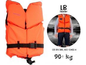 LB Lázár záchranná vesta Life Vest 90+ kg