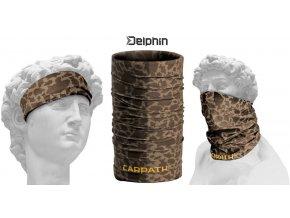 Multifunkční šátek Delphin CARPATH